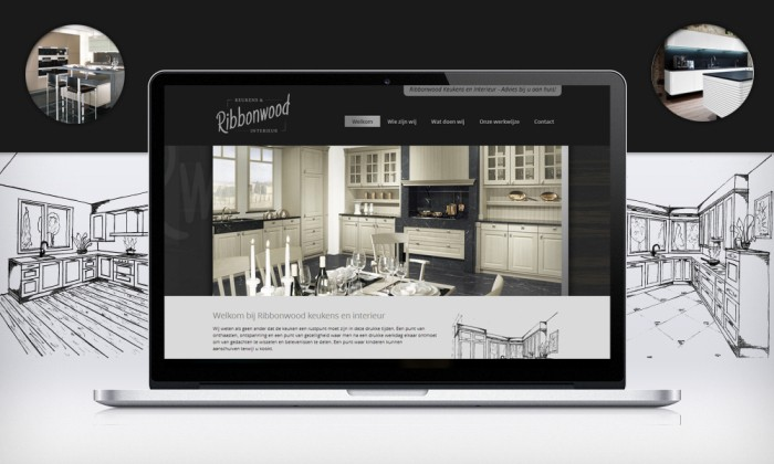 Ribbonwood keukens interieur de werkende website for Interieur websites