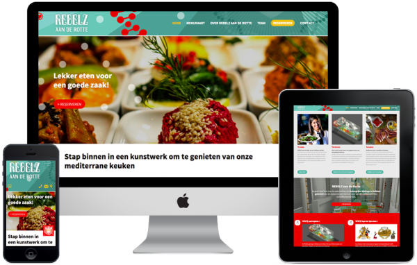 Website Rebelz aan de Rotte